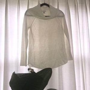 Calvin Klein cowl neck sweater - excellent cond!